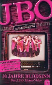 Cover J.B.O. - 10 Jahre Blödsinn - Das J.B.O. Home-Video [VHS]